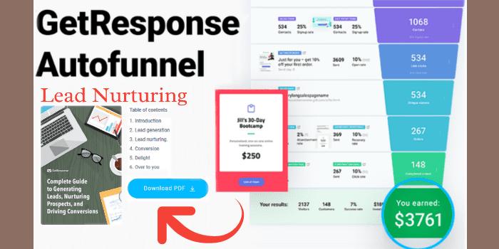Come Vendere Online | Lead Nurturing di GetResponse esempio con Autofunnel