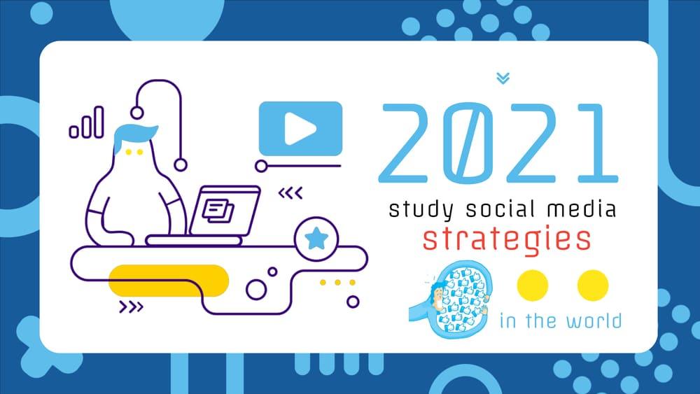 Omino alle prese con lo studio delle strategie per la rivoluzione del socia media nel mondo