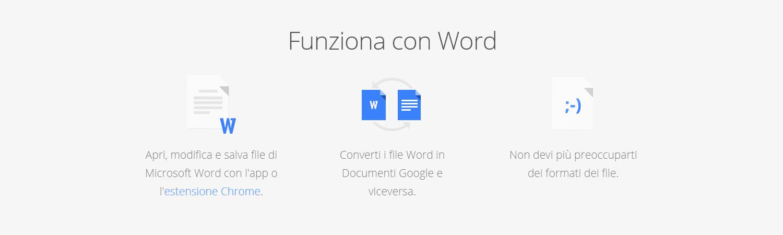 3 modalità di funzioni di convertire Microsoft Word in Google Documenti