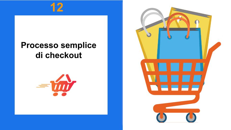 Carrello Spesa immagine - Copertina Processo semplice di checkout