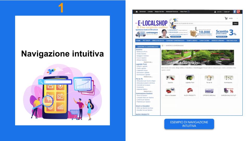 Tre ragazzi che guardano mobile per capire la navigazione intuitiva | 14 funzionalità essenziali per un e-Commerce di successo