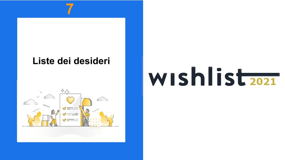 2 Ragazzi che segnano le Liste dei Desideri - Wishlist 2021